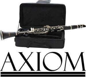 Axiom Student Clarinet Quality School Beginner Clarinet w/Case 2 Year Warranty