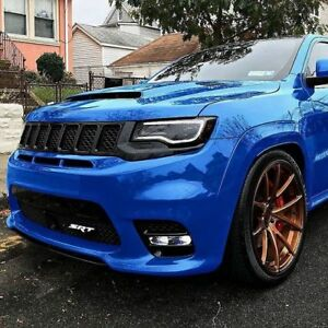 Set for Jeep Grand-Cherokee (DEMON Hood, Diffuser, Top & Mid Spoilers) for SRT8
