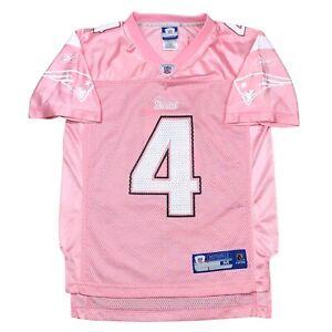 Vintage New England Patriots ADAM VINATIERI Reebok Jersey Pink/White Youth M