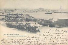 Palma de Mallorca Desde Terreno general view 1905 PC