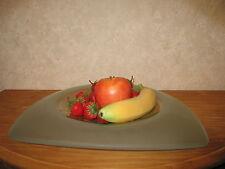LEONARDO *NEW* Bol à fruits 38cm Triangle Malaga ( sans les fruits )