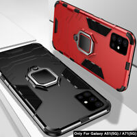 Hard Case For Samsung Galaxy A71 5G A51 Shockproof Ring Stand Armor Hybrid Cover