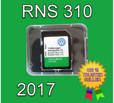 2017 VW SKODA SEAT RNS 310 AMUNDSEN V9 SD CARD FX WEST EUROPE NAVIGATION