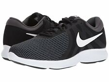 NIKE Men's Revolution 4 Running Shoe, Black/White-Anthracite 9.5 (4E) Wide New