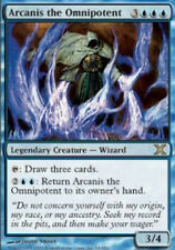 10th Edition Arcanis the Omnipotent - Foil x1 Moderate Play, English Magic Mtg M