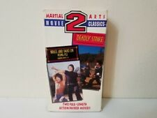 Deadly Strike / Bruce and Shao lin Kung Fu - VHS Martial Arts Classics 2 VHS