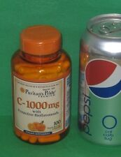 Vitamin C with Bioflavonoids, from Puritan's Pride >>>100 capsules, 1000 mg each