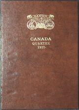 Canada Quarter 25 Cents Dansco Canadian Coin Album Folder NEW UNUSED 1937-1986