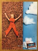 2000 Kellogg's Rice Krispies Treats ROCK CLIMBING Vintage Poster Ad Art Print