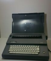 Vintage Smith Corona SL80 Portable Electric Typewriter Gray Working Condition