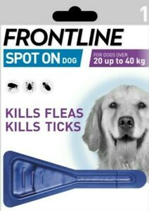 FRONTLINE Spot On Dogs Flea Tick Lice Treatment Small Medium Large FAST DELIVERY