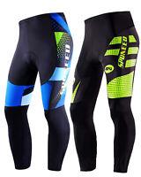 Cycling Pants Men Padded Cycle Tights Stretchy MTB Road Biking Trousers
