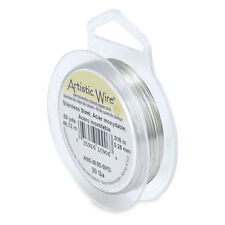 Beadalon Artistic Wire - 30 Gauge (0.25mm) - Stainless Steel
