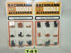 TWO SETS OF BACHMANN HO SCALE #2305 FREIGHT LOAD SETS #1 NEW