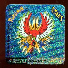 STAKS AIMANT POKEMON MOTIF HOLO MULTIPOINTS N° 250 HO-OH