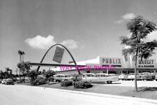 "4""x 6"" Reprint B&W Photo 1958 Publix Grocery Store, Bradenton, Florida"