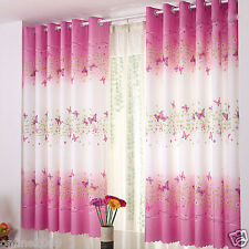 Home Decor  Curtain Butterfly  Finished Product Cloth Window Screens Curtain