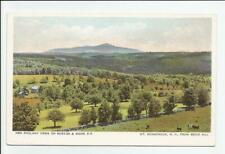 Mt Monadnock from Beech Hill NH Postcard Views on Boston & Maine RR Antique UDB