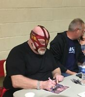 Big Van Vader AUTOGRAPHED SIGNED WWE WCW 8x10 Photo With EXACT PROOF