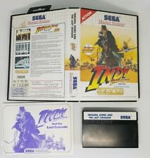 Indiana Jones and the Last Crusade - Sega Master System Game - Boxed Complete