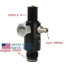 4500psi Paintball Valve High Pressure 2200psi Output Pcp Fill Adapter M18x1.5
