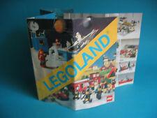 LEGO Katalog Faltblatt  Sortiment von 1981