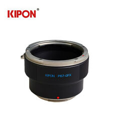 Kipon Adapter For PK Pentax 67 Lens to FUJI Fujifilm G-Mount GFX 50S Camera Pro1