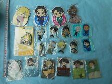 japan anime manga Yuri!!! on Ice Keychain / Strap / Badge set (y1 388