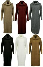 Patternless Long Sleeve Maxi Dresses for Women