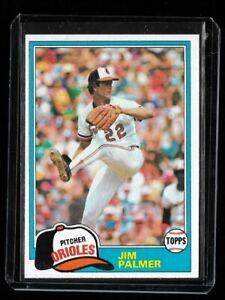 1981 Topps Jim Palmer #210 NM or Better