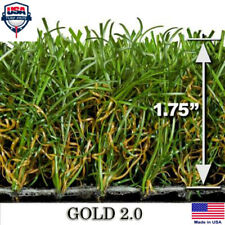 Gold 80 Synthetic Landscape Fake Grass Artificial Pet Turf Lawn 6