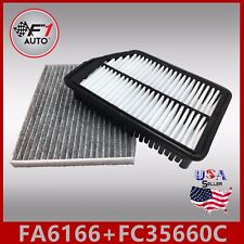 FA6166 FC35660C(CARBON) PREMIUM ENGINE & CABIN AIR FILTER for 2013-2016 ELANTRA