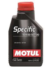 MOTUL OLIO SPECIFIC 504 00 507 00 5W30 5 LITRI VOLKSWAGEN LUBRIFICANTE MOTORE DI