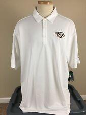 NWT Nike Golf Dri Fit Nashville Predators Dr Pepper Polo Shirt Men's Size XL