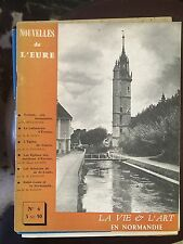 Nouvelles de l'Eure n°6. Octobre 1960. la vie et l'art en Normandie
