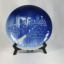 Royal Copenhagen Plate B&G Jule After Collection 1968 Cobalt Hanging Dish 7in