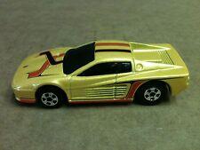 "1997 HOT WHEELS FERRARI F512M CAR DIE CAST 3"" LONG 1:64"