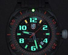 Luminox 0215.SL Sentry Black And Red Dial Bright Night Vision Illumination!