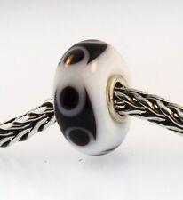 Authentic Trollbeads Glass Bead   61346 Freddy - rockstar  RETIRED