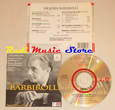 CD SIR JOHN BARBIROLLI The halle orchestra of manchester ERMITAGE1996  lp mc dvd
