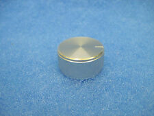 """NEW Replacement DYNACO Knob (1-1/4"""" diameter) - SILVER Machined Aluminum"""