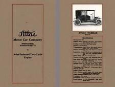 Atlas 1911 - 1911 Atlas Motor Car Company - Atlas Perfected Two-Cycle Engine