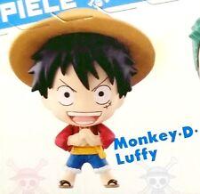 One Piece Ocean Blue Chibi Bandai Box single figure LUFFY Rufy Rubber