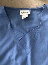 Ladies Xs Scrubs 2 Piece Set Light blue.