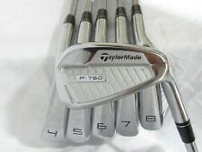 Used TaylorMade P-760 Forged Iron Set 4-9 Project X Pxi Stiff Flex Steel Shafts