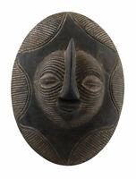 Piccolo Scudo Songye Kifwebe Rdc Ex Zaire 29 CM Arte Tribale Africano 16896