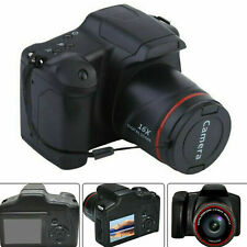Fotocamera Reflex 1080P Macchina Fotografica Digitale Display 16X Zoom HD TFT