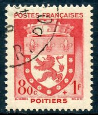 STAMP / TIMBRE FRANCE OBLITERE N° 555  BLASON / POITIERS