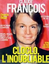 CLAUDE FRANCOIS ~ DESTIN D'UNE STAR  ~ NEUF / BRAND NEW ©TBC