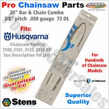"20"" Bar & Chain Husqvarna Chainsaws Models 2100, 2101, 3120 and 3120 XP"